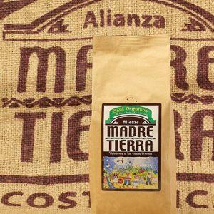 Madre Tierra Honey Black Premium selektierter Natur Arabica Costa Rica 500g ganze Bohnen
